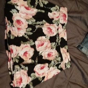 Childrens place floral skirt